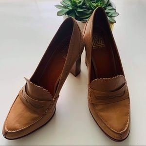 Pour La Victoire Larkin Penny Loafers Heels 10